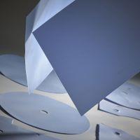 6.5 W/mK Blauwe siliconevrij electrisch isolerend warmtegeleidende folie