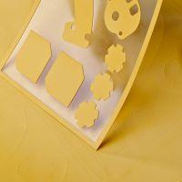 1.5 W/mK Oranje warmtegeleidende silicone folie