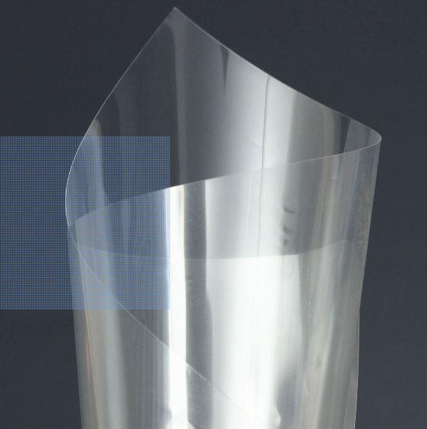 transparante polyester film vlamvertragend